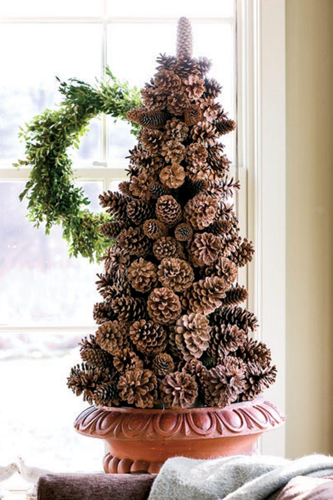 Pine Corn Christmas Tree (1)